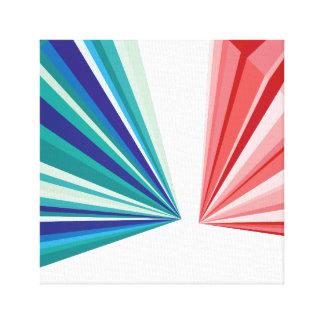 幾何学的なパターンキャンバスのプリント キャンバスプリント