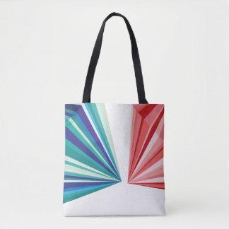 幾何学的なパターントートバック トートバッグ