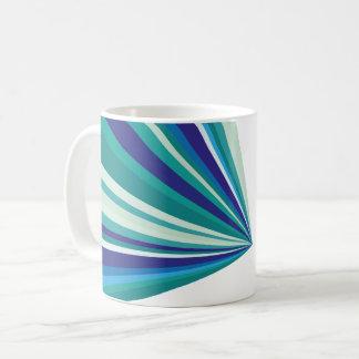 幾何学的なパターンマグ コーヒーマグカップ