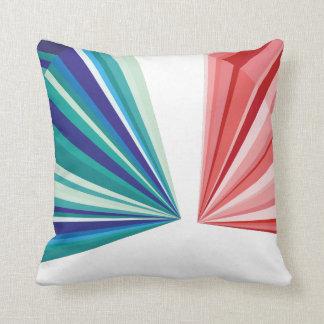 幾何学的なパターン枕 クッション