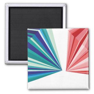 幾何学的なパターン磁石 マグネット