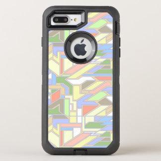 幾何学的なパターン3 オッターボックスディフェンダーiPhone 8 PLUS/7 PLUSケース