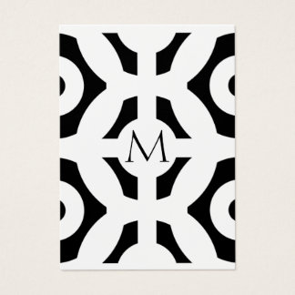 幾何学的なパターン 名刺