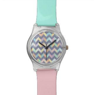 幾何学的なパターン 腕時計