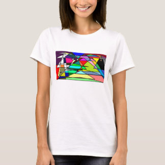 幾何学的なファンタジー Tシャツ