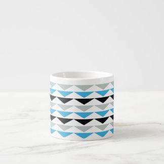 幾何学的なプリントのエスプレッソのコップ エスプレッソカップ
