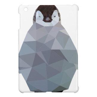 幾何学的なベビーのペンギンのプリント iPad MINI カバー