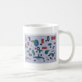 幾何学的なマグ コーヒーマグカップ