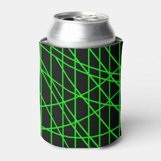 幾何学的なライン 缶クーラー