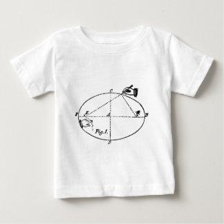 幾何学的なヴィンテージの大工仕事のイラストレーション- ベビーTシャツ