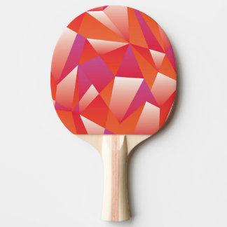 幾何学的な卓球ラケット 卓球ラケット