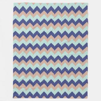 幾何学的な海 フリースブランケット