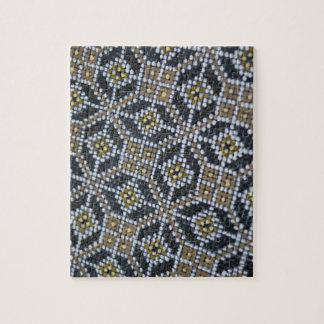 幾何学的な点によって絵を描かれるパターンパズル ジグソーパズル
