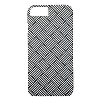 幾何学的な点検された質 iPhone 8/7ケース