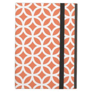 幾何学的な珊瑚のiPadの空気箱
