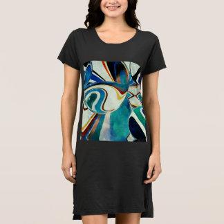幾何学的な精神の抽象的概念 ドレス