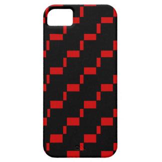 幾何学的な背景 iPhone SE/5/5s ケース