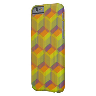 幾何学的な芸術 BARELY THERE iPhone 6 ケース