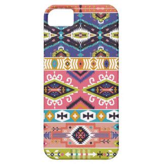幾何学的な要素が付いている明るいパターン iPhone SE/5/5s ケース