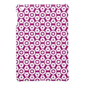 幾何学的なipadの場合 iPad miniケース