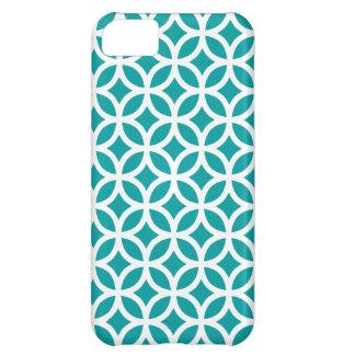 幾何学的なiPhoneの場合\ティール(緑がかった色) iPhone5Cケース