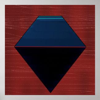 幾何学的 ポスター