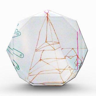 幾何学者のガラス玉のゲーム 表彰盾
