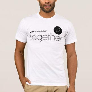 幾日はこの及びUber一緒に好みます Tシャツ
