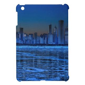 広い肩幅およびミシガン湖市 iPad MINIケース