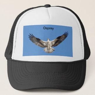 広げられた翼を持つミサゴを示す帽子 キャップ