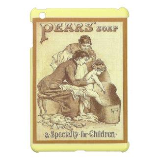 広告するヴィンテージ子供のためのナシの石鹸 iPad MINI カバー