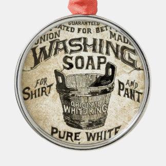 広告の洗浄の石鹸 メタルオーナメント