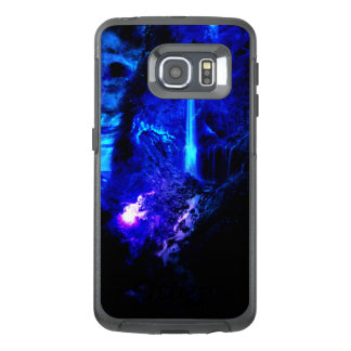 広告のAmorem Amisiのabalone湖 オッターボックスSamsung Galaxy S6 Edgeケース