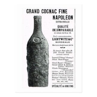 広告、壮大なコニャックナポレオン ポストカード