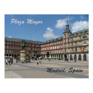 広場の市長 ポストカード