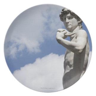 広場のdella 2のミケランジェロのデイヴィッド プレート