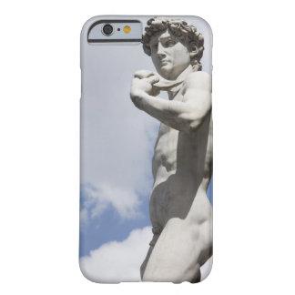 広場のdella 3のミケランジェロのデイヴィッド barely there iPhone 6 ケース