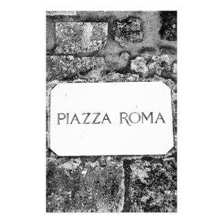 広場ローマ 便箋