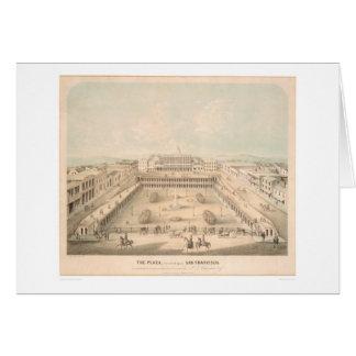 広場、ポーツマススクエア、S.F. (1335A) カード