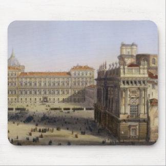広場Castello、F. Citterio (cが刻むトゥーリン マウスパッド