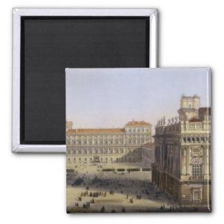 広場Castello、F. Citterio (cが刻むトゥーリン マグネット