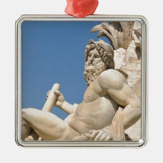 広場Navona、ローマ、イタリアのイタリアンな建築 メタルオーナメント