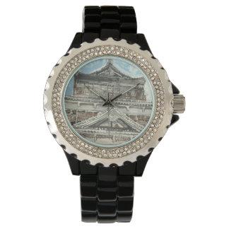 広島の城の日本親切な腕時計の1つ 腕時計