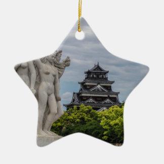 広島の城 セラミックオーナメント