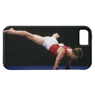 床のルーチンをpeformingオスの体育専門家 iPhone SE/5/5s ケース