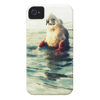 底! おもしろいなアヒルのお尻の写真 Case-Mate iPhone 4 ケース
