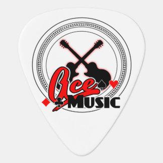 店のロゴのギターピック ギターピック