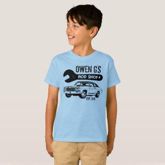 店のワイシャツを改造しました Tシャツ