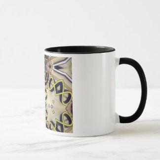 店の印のモザイク マグカップ