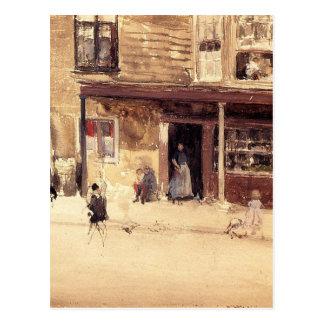 店-ジェームスMcNeillのホイスラーによる外面 ポストカード